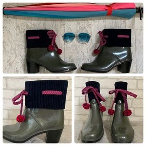 Marc by Marc Jacobs grey short rainboots -…